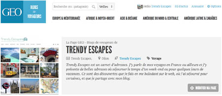 Blogueurs voyageurs GEO