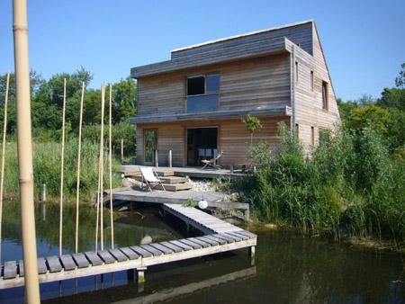 Le bruit de l 39 eau un colodge design en baie de somme - Chambre d hote baie de somme bord de mer ...