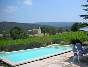 Gîte de charme au coeur des vignes dans le Vaucluse