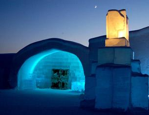 L'Icehotel , un hébergement insolite