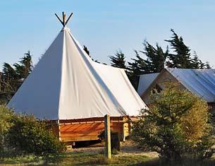 Camping écolo-bobo à Noirmoutier