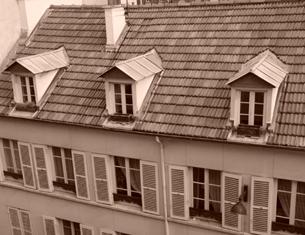 Les toits de Paris, chambre d'hôtes Paris