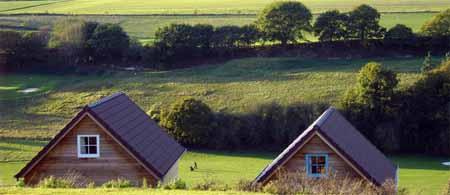 Le Domaine du Val, maisons en bois en baie de Somme
