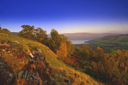 Chalet en bois avec vue sur le Loch Ness