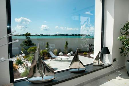 Luxueuse villa à Roscoff, les pieds dans l'eau