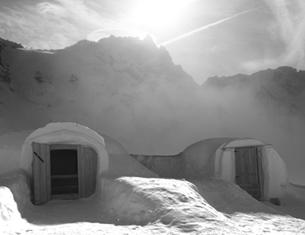 Le chalet d'en Haut, une expérience insolite à 3200 m