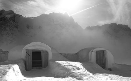 Le chalet d'en Haut, un igloo de luxe