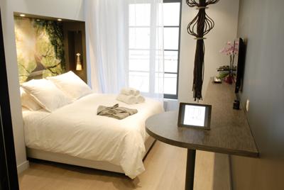 Mi Hotel chambre Sequoia, hotel design à Lyon