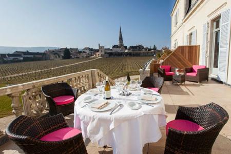 La Cueillette hôtel luxe bourgogne