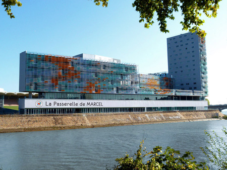 La Passerelle de Marcel à Nantes