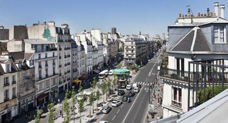 Hôtel Emile dans le Marais à Paris