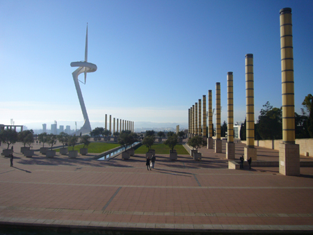 site olympique barcelone