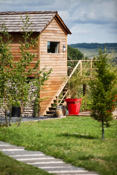 La Cabane ds Prés Verts en Bourgogne