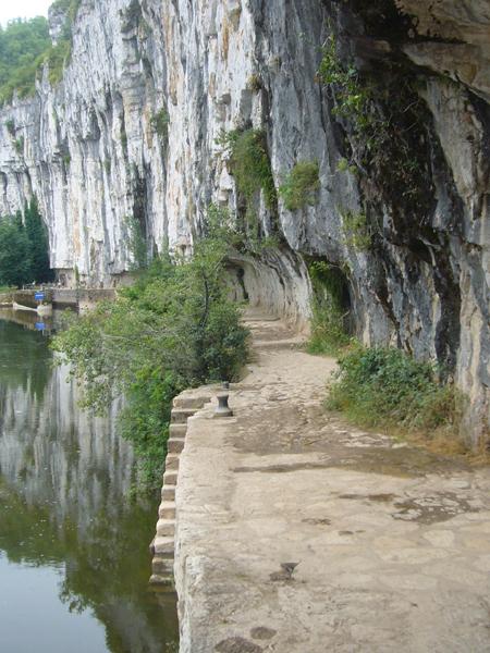 chemin de halage de Bouziès