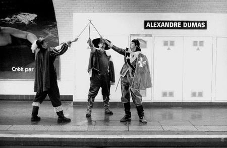 Métropolisson, Métro Alexandre-Dumas