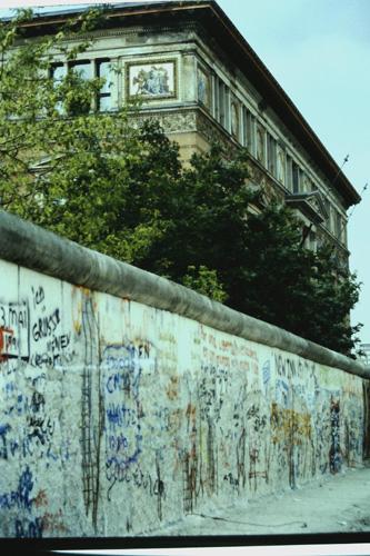 Le Mur de Berlin 1990