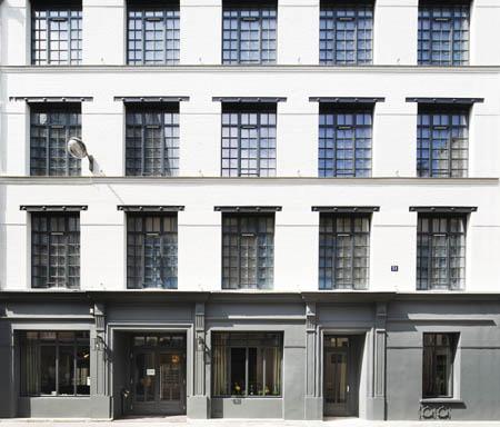 L'hôtel Fabric dans une ancienne usine textile à Paris