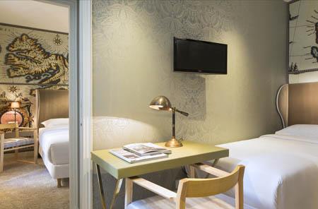 L'hôtel du Continent à Paris : Antartica