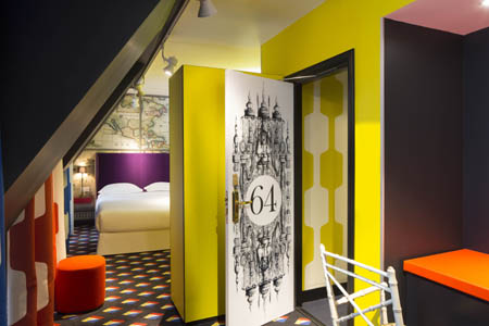 L'hôtel du Continent à Paris : America