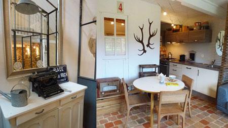 Sept petites maisons dans la prairie en Bretagne, maison de Joséphine