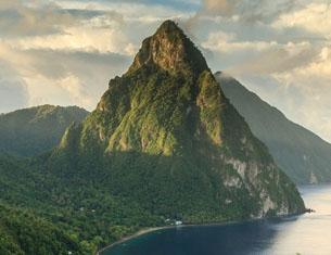 Cap sur Sainte-Lucie dans les Antilles !