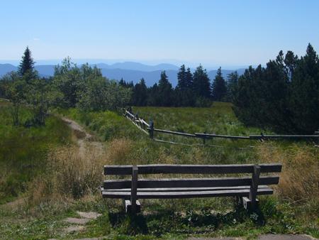la Route des Crêtes de la Forêt-Noire