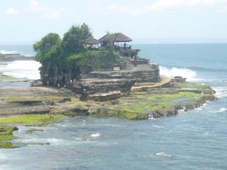 Tanah Lot à Bali