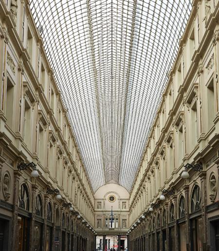 L'hôtel des Galeries à Bruxelles