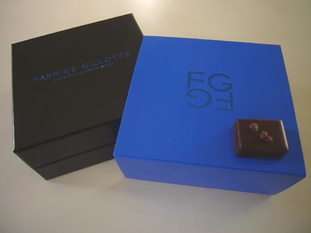Les merveilleux chocolats de Fabrice Gillotte