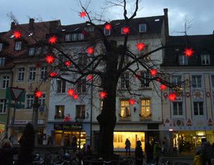Le marché de Noël de Friburg