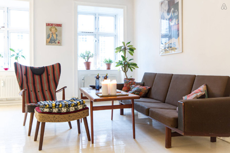 Un appartement design à Copenhague