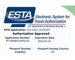 Comment obtenir l'ESTA ?