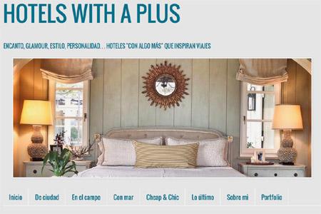 Hotelswithaplus, le blog de Sonsoles