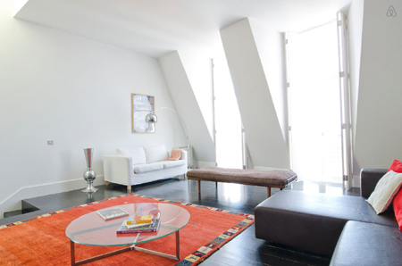 appartement design à Lisbonne