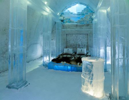 IceHotel en Suède