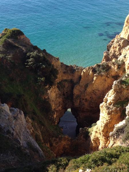 chemin côtier Cascade Resort Lagos Algarve