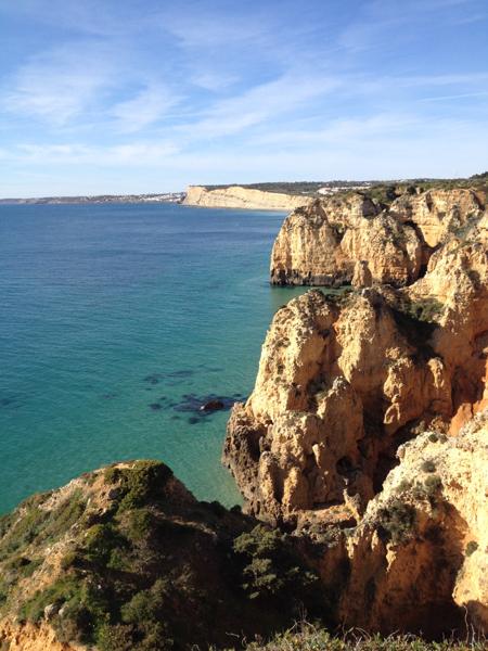 Falaises de l'Algarve