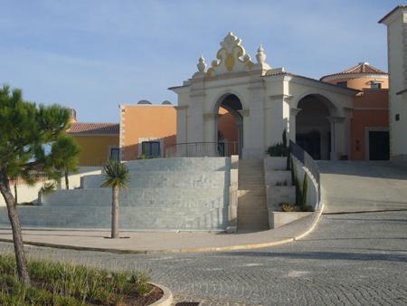 Entrée Cascade Resort Lagos Algarve
