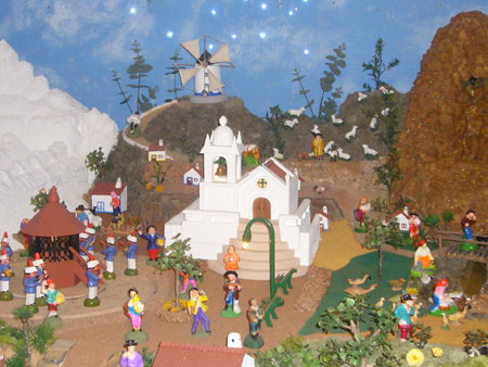 crèche Noël Lagos