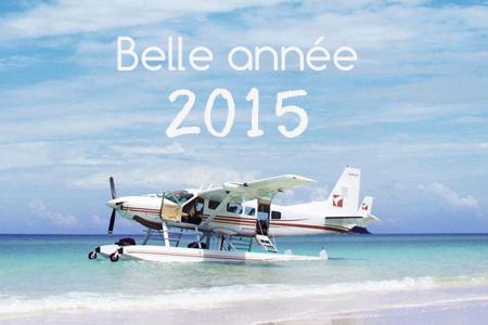 Très belle année 2015