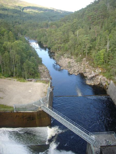 centrale hydraulique Glen Affric