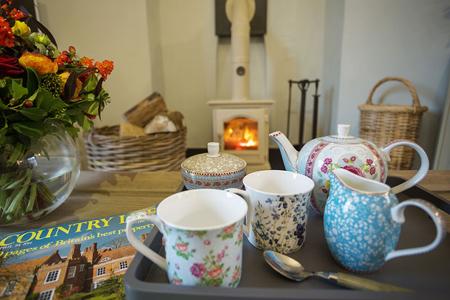 Tea tima au London Lodge