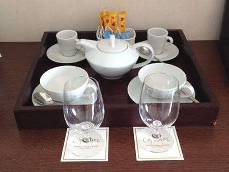 pause thé au Cascade Resort