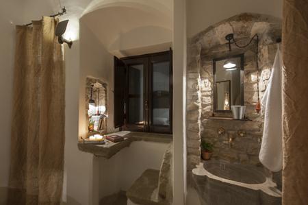 salle de bain hôtel eremito