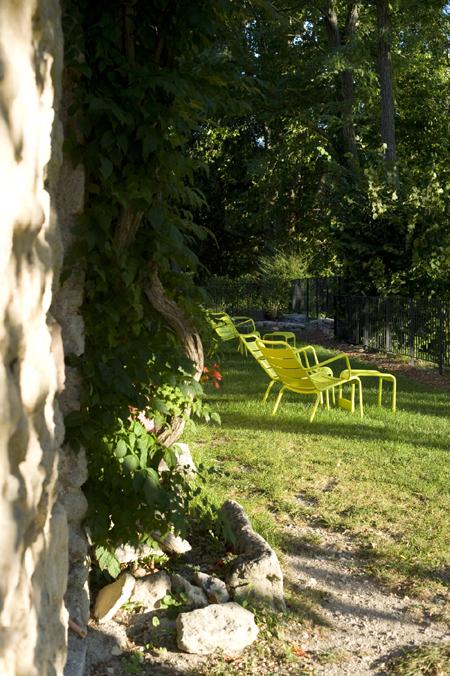 Jardin  Mas de Fontefiguières