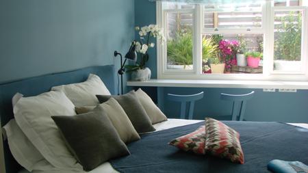 Les Jardins d'Aliénor, chambre Blue Hamptons