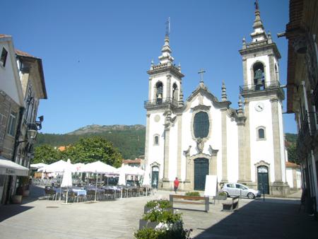 Vila Nova de Cerveira au Portugal