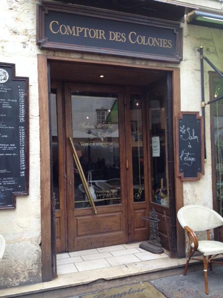 Comptoir des Colonies à Dijon