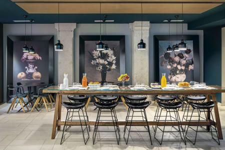 salle à manger Okko Hotels Lyon Pont Lafayette