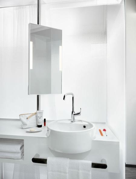 salle de bain Okko Hotels Lyon Pont Lafayette